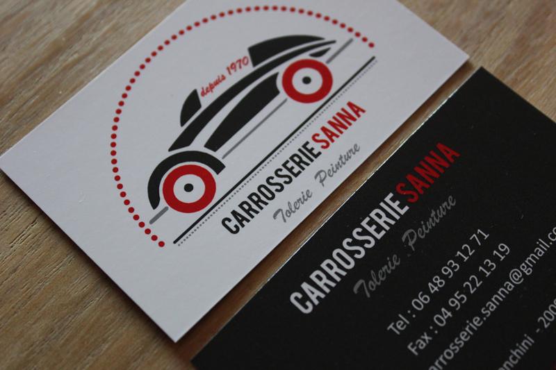 CARTE DE VISITE CARROSSERIE SANNA