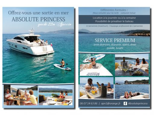 FLYER ABSOLUT PRINCESS